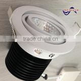 dimmable 10w click downlights led 3000K with CE