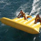 inflatable flying fish tube towable flying banana boat