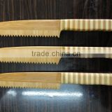 New Fashion Bamboo Bread Knife