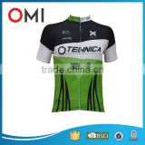 OEM /ODM high quality custom cycling apparel comfortable breathable bicycle jersey sublimated short sleeve cycling jersey