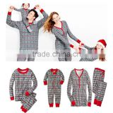 2016 Christmas snowflake paternity suits printed pajamas for family