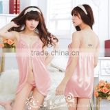 2014 the new Before the new color lingerie split lace sexy pajamas + thong free shipping