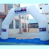 Custom Advertising Inflatables White Inflatable Arch for Advertisement