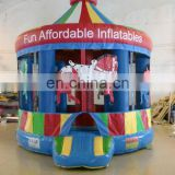 Inflatable horse bouncer for kids