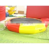 inflatable water trampoline, inflatable water jumper, inflatable aqua trampoline, inflatable water game
