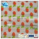 2015 New Printted Stretch Knitted Cotton Velour Fabric