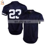Custom dye sublimation toddler authentic baseball jerseys cheap wholesale plain baseball jerseys