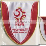 Promotional Custom Design Sport Pennant Triangle Polyester Flag Bunting