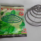 TOPONE Smokeless unbreakable plant fiber paper mosquito coil fly mosquito killer for household