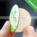13.56Mhz ISO14443A Rewritable Printing Ultralight C NFC epoxy sticker / tag with adhesive