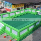 Best pvc large inflatable football pitch inflatable pool table field soccer for playing                                                                         Quality Choice