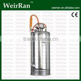 (4200) 17L stainless steel manual pesticide sprayer; water pressure srayer pump