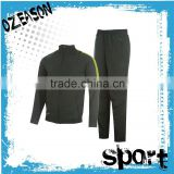 100% polyester high quality sublimated men's sport tracksuit blank tracksuit wholesale