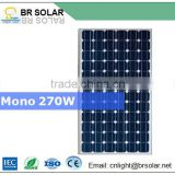 mono poly crystalline silicon photovoltaic cell low iron tempered glass solar panel 250w price