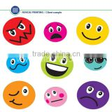 Interesting face window decor sticker,car decorative sticker,kids sticker China supplier