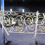 Private Villa Project Use Exterior Wrought Iron Stair Railing