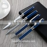 Wholesale luxury metal pen with business card letter opener