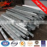Overhead Line Distribution Power Accessories Steel Cross Arm