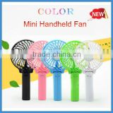 Big discount China colorful Rechargeable standing fan cooling mini protable USB Fan