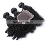 Afro kinky curl indian hair natural human hair lace frontal piece in south africa                                                                                                         Supplier's Choice