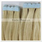 light golden brown hair color skin weft hair extension tape hair