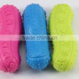 Sausages rubber pet toys cat pet dog supplies dog chews wholesale factory