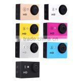 Waterproof Sports DV recorder A8 Action Camera Full HD 720P 2 inch Car DVR H.264 5 Mega Underwater 30M