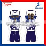 Oem services custom sports volleyball jersey