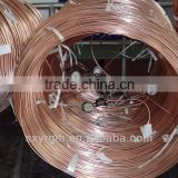 copper -plated bundy pipe tube for refrigerator condenser