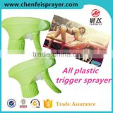 Custom 28 410 manufactory direct sales chemical all plastic trigger sprayer for car clean
