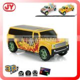 Newest flashing light battery operated toy car