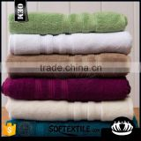 2015 new customized 100% cotton yarn-dyed jacquard home bath towels