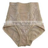 2014 Hot sale high waist slimmer shaper panties slimmer shaper briefs lace slimmer shaper panty