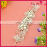 China cheap beads acryilc bridal wedding hair accessories WHD-014