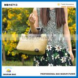 2016 Alibaba rattan beach handbags, raffia straw bag, rattan bag Wholesale china Supplier