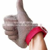 Stainless Steel Ring Mesh Gloves/Chain Mail Gloves/Metal Mesh gloves for Butcher