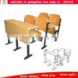 Folding adjustable rectangle shape wooden school table and chair Folding wood chair outdoor