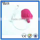 Hot-selling 3D wired computer turtle mouse for PC laptop, funny optical animal tortoise computer mouse