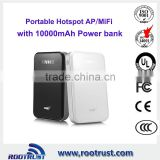 wireless router wifi hotspot with battery 10000mAh