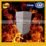 Refractory bricks glass furnace tin bath brick vibration molding brick perforated block manufacturer