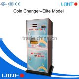 Hot sales ! Dispenser Coin Machine Change Money /Cash Exchange Machines