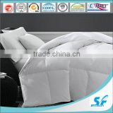 Single Size Cotton Down Duvet / Comforter with white Duck Down , Washed Breathable Comforter for home &