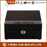 For 6 watches Black Velvet Wooden Watch Displays Boxes Export Around World