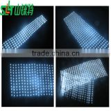 led twinkling stars led curtain lights,big commercial facade advertising led curtain wall,led light curtain wall