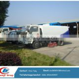 road sweeper vechile road wash aweeper truck