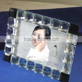 Hot Sale Unique Love Wedding Anniversary Decoration Crystal Photo Frame