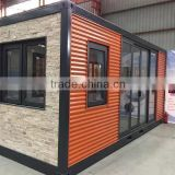 2016 hotsale Modified Container House for living room, prefabricated container house, prefab home