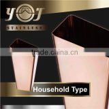 New Product Modern Stainless Steel Instant Ds Vases
