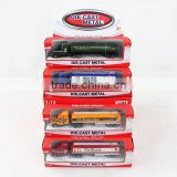diecast model car set container truck toy 4 color mix