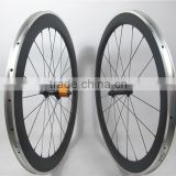 Farsports carbon bicycle wheels , Mixed all 50mm & 60mm alloy carbon bike wheels , 20H front 24H rear, with ED hubs from Taiwan